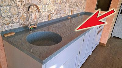 Столешница искусственного камня российского производства столешница б/у для кухни